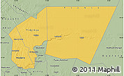 Savanna Style Map of Tagant