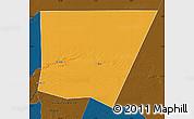 Political Map of Tichit, darken