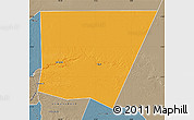 Political Map of Tichit, semi-desaturated