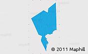 Political Map of Tidjikja, cropped outside
