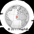 Outline Map of Tidjikja