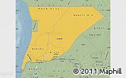 Savanna Style Map of Trarza