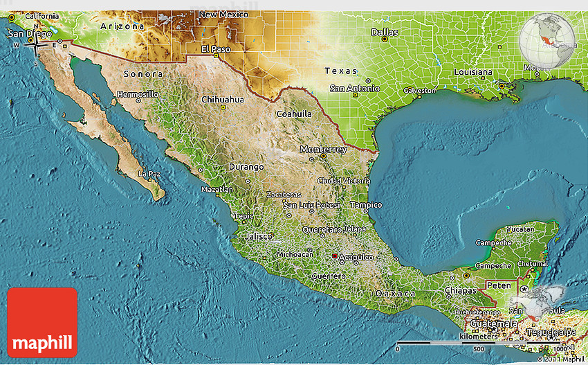 a geographical overview of mexico Lagrangian dynamical geography of the gulf of mexico  dimarco, s f,  nowlin, jr, w d & reid, r o a statistical description of the velocity fields from  upper.