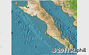 Satellite 3D Map of Baja California Sur