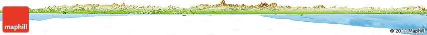 Physical Horizon Map of Comondu