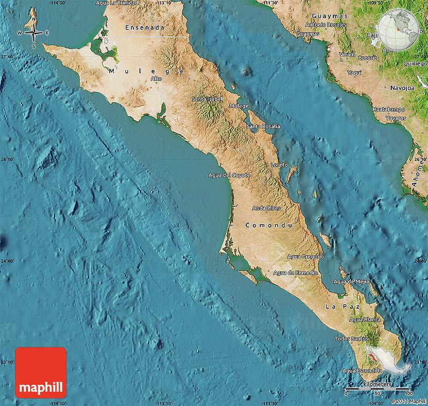 Satellite Map of Baja California Sur on solar map of california, detailed map of california, street view of california, hotels of california, wi-fi map of california, forecast of california, education map of california, topographic map of california, city of california, sky map of california, aerial photograph of california, entertainment map of california, large map of california, humidity of california, military map of california, atlas map of california, food of california, earth map of california, travel of california, traffic map of california,