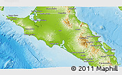 Physical 3D Map of Mulege