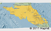 Savanna Style 3D Map of Mulege