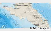 Shaded Relief 3D Map of Mulege