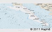 Classic Style Panoramic Map of Baja California Sur