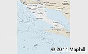 Classic Style Panoramic Map of Baja California