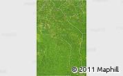 Satellite 3D Map of Hopelchen