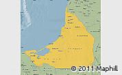 Savanna Style Map of Campeche