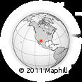 Outline Map of Ascension