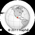 Outline Map of Guanajuato