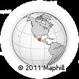 Outline Map of Valle De Santiago