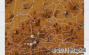 Physical Map of Yuriria