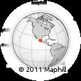 Outline Map of Yuriria