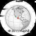 Outline Map of Tetepango