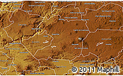 Physical 3D Map of Tepatitlan de Morelos