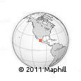 Outline Map of Tepatitlan De Morelos