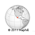 Outline Map of Nayarit