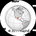 Outline Map of Juarez