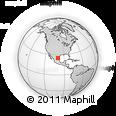Outline Map of Montemorelos