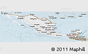 Classic Style Panoramic Map of Mexico
