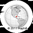 Outline Map of Benito Juarez