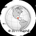 Outline Map of Felipe Carrillo Puerto