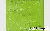 Physical 3D Map of Jose Maria Morelos