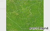 Satellite 3D Map of Jose Maria Morelos