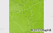 Physical Map of Jose Maria Morelos