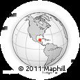 Outline Map of Jose Maria Morelos