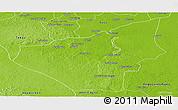 Physical Panoramic Map of Jose Maria Morelos