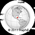 Outline Map of Lazaro Cardenas