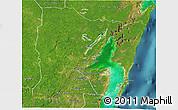 Satellite 3D Map of Othon P. Blanco