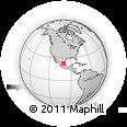 Outline Map of San Luis Potosi