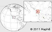 Blank Location Map of Concordia