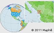 Political Location Map of Concordia