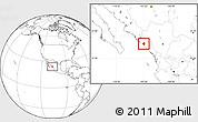 Blank Location Map of Elota