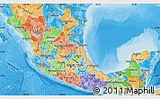 Political Shades Map of Sinaloa