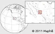 Blank Location Map of Mocorito