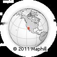 Outline Map of San Luis Rio Colorado