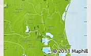 Physical Map of Altamira