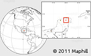Blank Location Map of Calotmul