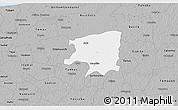 Gray 3D Map of Cenotillo
