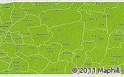 Physical 3D Map of Cenotillo