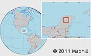 Gray Location Map of Chacsinkin